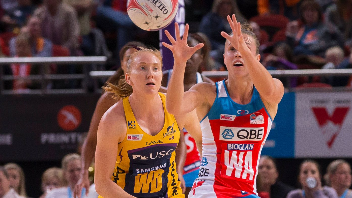 Netball: Fast starting NSW Swifts hold off Sunshine Coast Lightning