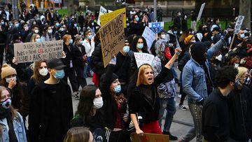 Black Lives Matter protest Melbourne
