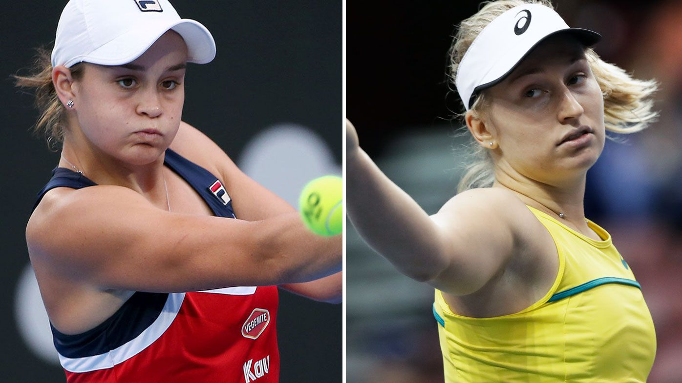 Tennis: Aussies Ash Barty and Daria Gavrilova to face-off in clay season opener