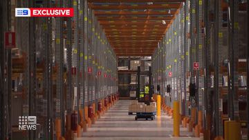 'It's life or death': Exclusive look inside New South Wales COVID vaccine warehouse
