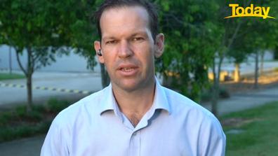 Queensland Senator Matt Canavan went on to predict 'logistic' challenges when it comes to the vaccine rollout.
