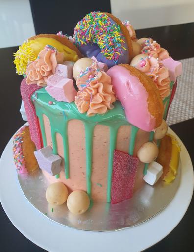 Coles mud cake hack: doughnut layer cake