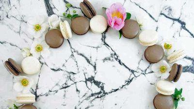 "Recipe:&nbsp;<a href=""http://kitchen.nine.com.au/2017/05/05/14/53/baileys-cloud-macarons"" target=""_top"">Baileys cloud macaron</a>"