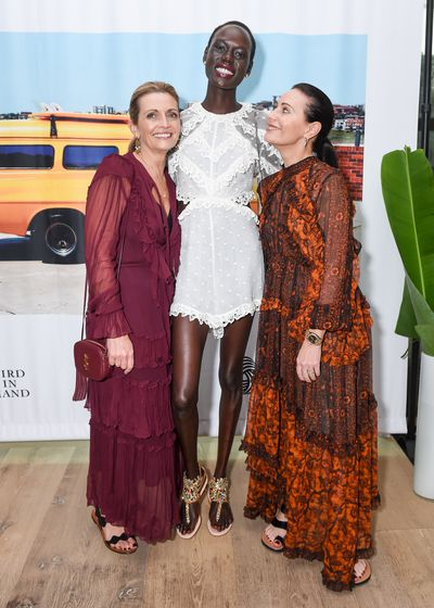 "<p>The Australian fashion mafia took over New York this week with the summer party for the <a href=""http://style.nine.com.au/2016/12/20/12/03/australian-fashion-foundation-awards"" target=""_blank"" draggable=""false"">Australian Fashion Foundation</a>, attracting Zimmermann's sister act Simone and Nicky, Dion Lee and models Duckie Thot, Ajak Deng, Anabella Barber and Victoria Lee.</p> <p>Established by international fashion consultant Malcolm Carfrae and Julie Anne Quay, the dynamic founder of VFiles, the AFF launches Australian fashion talent internationally through prizes, internships and the kind of support that can only come from someone who has felt the cold splash of Victoria Bitter on their lips.</p> <p>The event, supported by The Woolmark Company, was held at the new <a href=""https://www.firmdalehotels.com/hotels/new-york/the-whitby-hotel/"" target=""_blank"">Whitby Hotel</a> with former PM Paul Keating's daughter Katherine and restaurant entrepreneur Lincoln Pilcher celebrating the best Australia has to offer with Bird In Hand wine.</p> <p>""Nine years ago @julieannequay and I had the idea to found the @theaustralianfashionfoundation,"" Malcolm posted on Instagram. ""Giving back to young Aussies in an industry that's been so good to us was our goal but there's also been A LOT of fun times over the years. Tonight's event at@thewhitbyhotel was no exception.""</p> <p>Image: Simone Zimmermann, Ajak Deng and Nicole Zimmermann.</p>"
