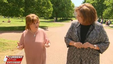 Susan Boyle and Tracy Grimshaw