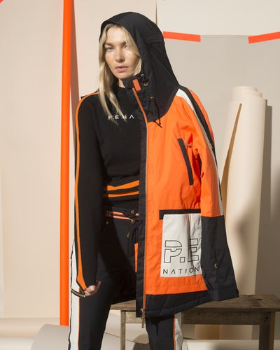 Jess Hart for P.E Nation X Woolmark