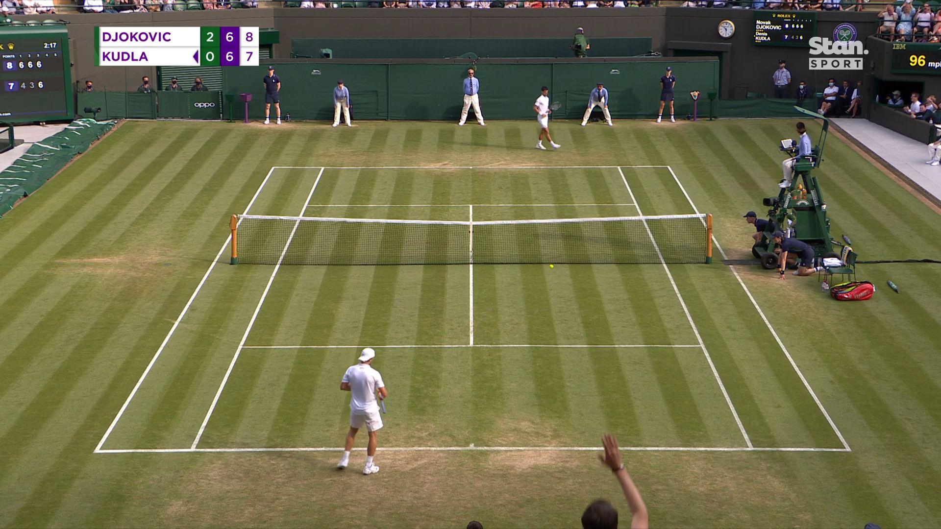 'Somehow I found a way' -- Novak Djokovic wins again at Wimbledon
