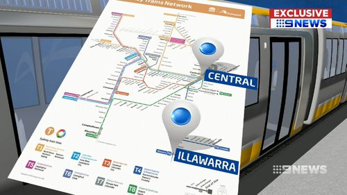The Premier has plans to overhaul stations on the Illawarra and Airport lines.