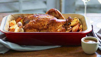"""Recipe: <a href=""""http://kitchen.nine.com.au/2016/05/16/13/55/classic-roast-chicken"""" target=""""_top"""">Classic roast chicken</a>"""