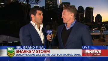 VIDEO: Grand final farewell for Sharks' Michael Ennis