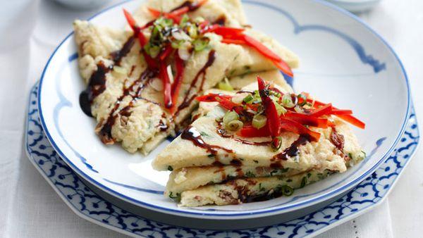 Okonomiyaki for $7.40