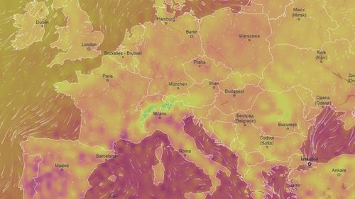 Temperatures could break European records in the coming week.
