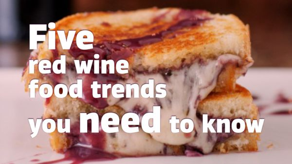 Five red wine food trends you need to know