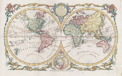 Thomas Bowen map, 1771