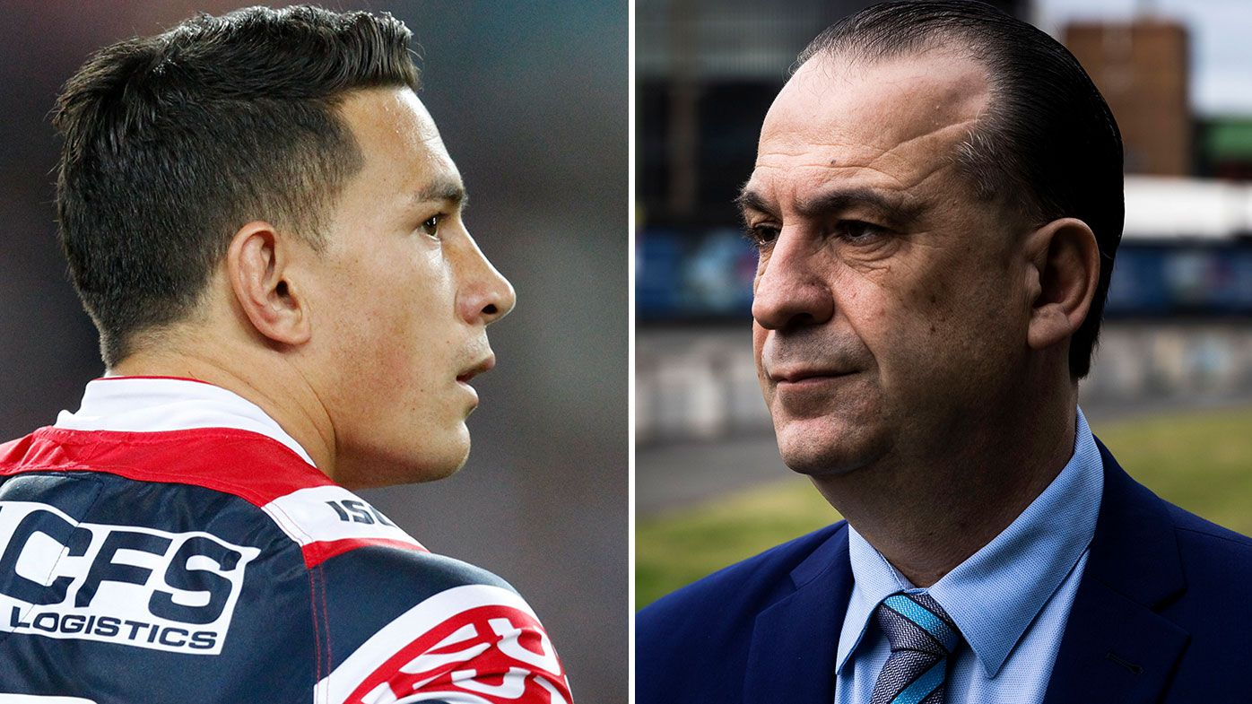 Peter V'landys rubbishes talk of Roosters bias after confirming intention to provide SBW exemption