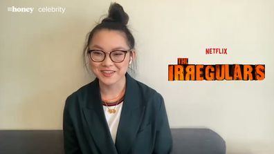 Thaddea Graham who plays Bea in The Irregulars on Netflix