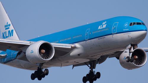 Part of KLM plane wing falls 2km and crashes into car in Japan