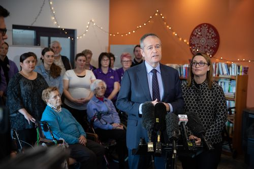Mr Turnbull's rating grew by two points over Mr Shorten less than two weeks before the 'Super Saturday' by-elections on July 28. Picture: AAP.