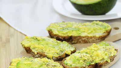 <p>Swap butter for avocado</p>