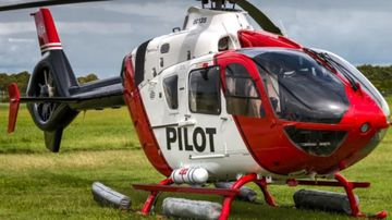 Full-scale search underway for missing helicopter pilot after crash