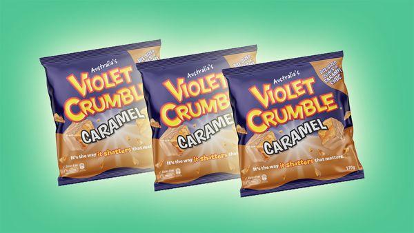Violet Crumble Caramel