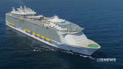 What life is like on-board the world's largest cruise ship