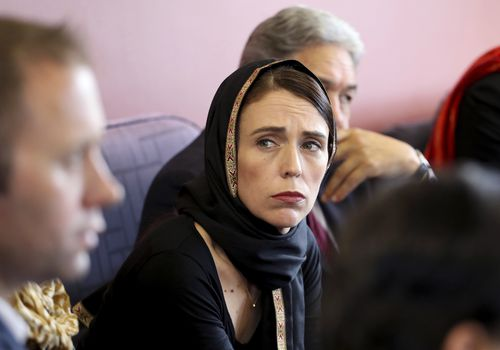 New Zealand Prime Minister Jacinda Ardern, has condemned Fraser Anning's comments on Muslim immigration on the day of the Christchurch massacre that left at least 50 people in two Christchurch mosques dead. (New Zealand Prime Minister Office via AP)