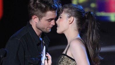 "<b>Robert Pattinson</b> and <b>Kristen Stewart</b> once did it for 12 hours straight…on the set of <i>Twilight</i>, that is. R-Patz admitted he got ""really carried away"" while filming a sex scene with his on-again-off-again girl, saying: ""When we started the kissing scenes I forget we're surrounded by a load of people. It's only when the kiss is finished that my mind registers there's actually a set full of people around, and I just walk away embarrassed."""