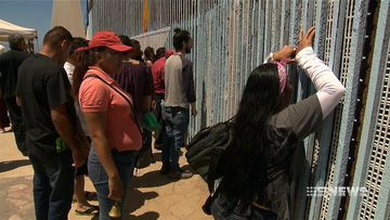 VIDEO: Divided families come together at Friendship Park on US-Mexico border