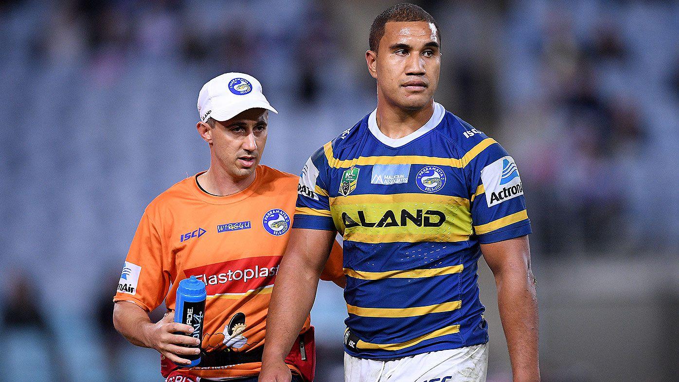 Parramatta Eels stand down Peni Terepo after alleged drunken incident on Air New Zealand