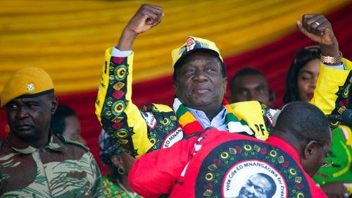 Zimbabwean President Emmerson Mnangagwa. (Photo: AP).