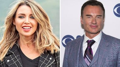 Dannii Minogue says her ex Julian McMahon's mother didn't approve of her