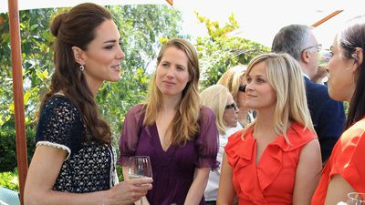 Kate Middleton with Reese Witherspoon