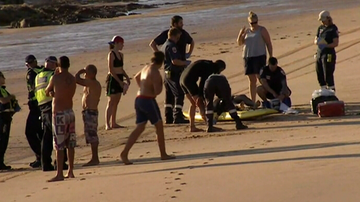 Two men have drowned on Christmas eve on a Phillip Island beach.