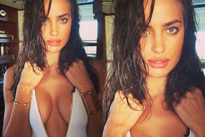 Stop what you're doing... and froth over Irina Shayk's sultry Bahamas Insta-snap #jealous <br/>
