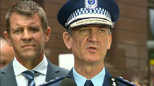 Top NSW cop's family at Martin Place cafe just hours before siege