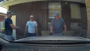 Police are hunting these four men, believed to speak with Irish or English accents, in connection with the scam.