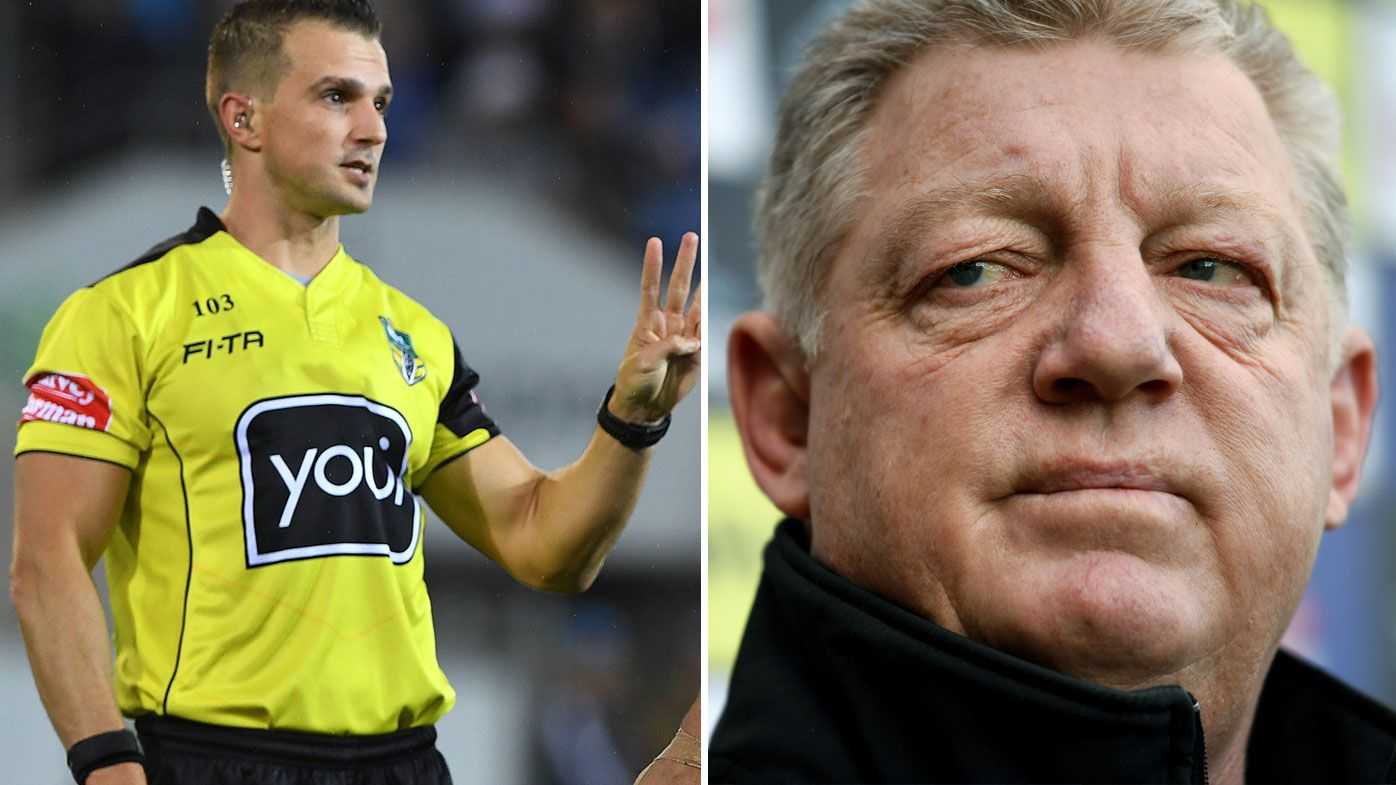 Gould weighs-in on NRL officiating