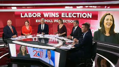 Full breakdown of exit poll predicting Labor win