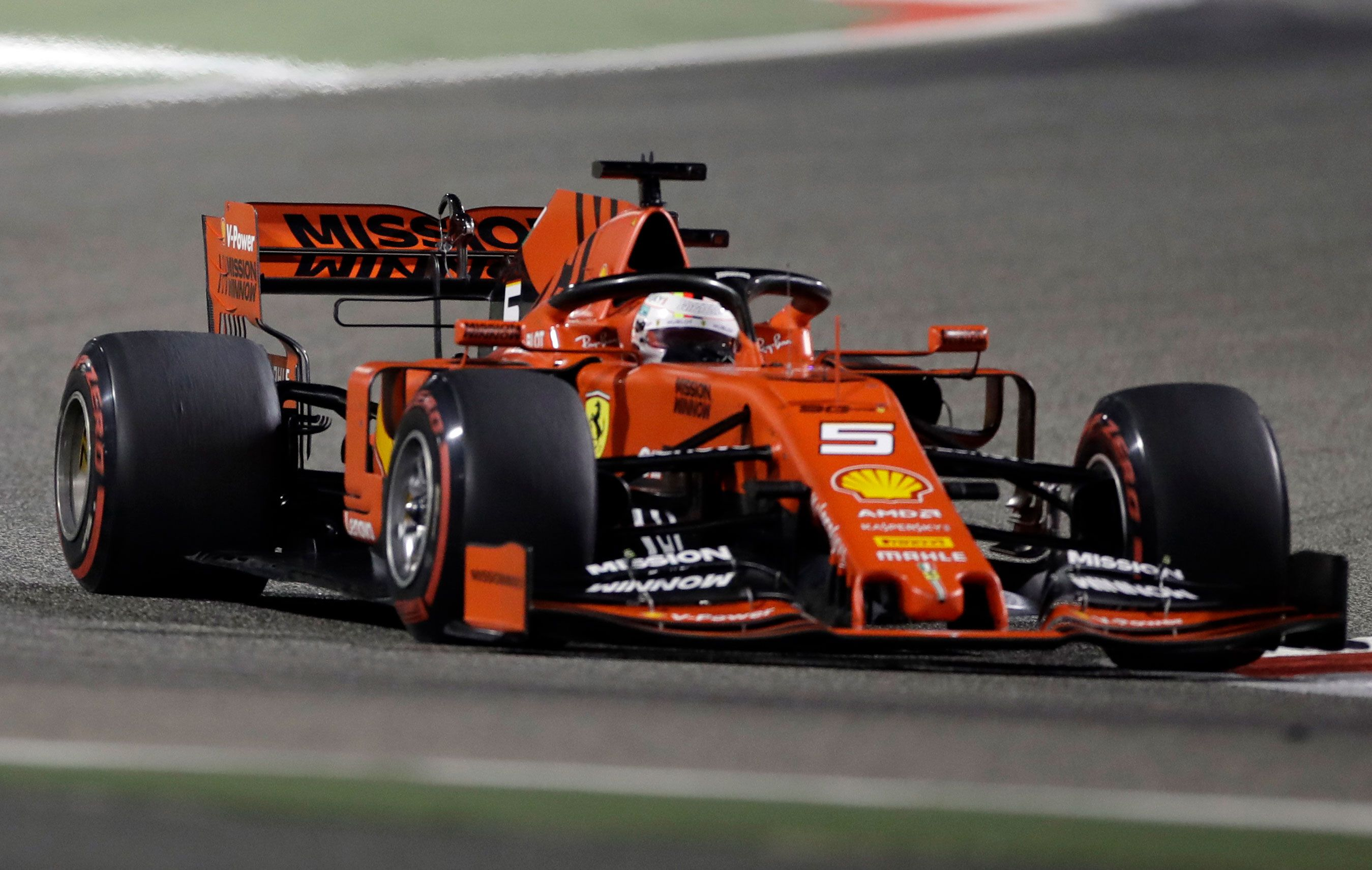 Sebastian Vettel struggled in Bahrain.
