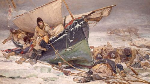 The Franklin expedition ended with the deaths of everyone on board.