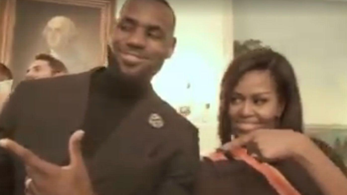 Obama honours NBA champions Cleveland Cavs