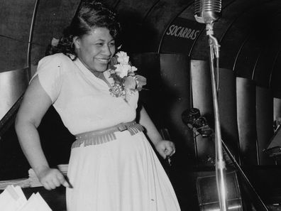 Ella Fitzgerald performing in 1940.