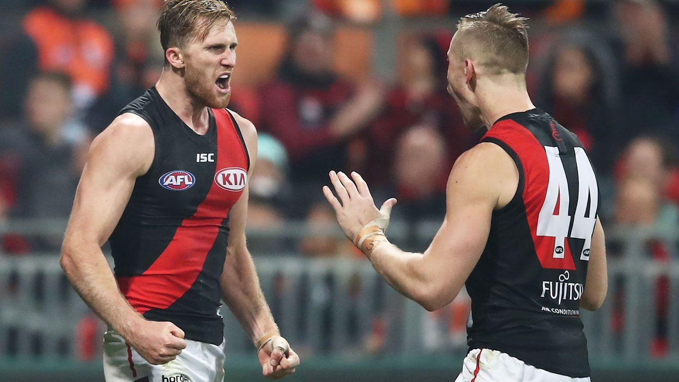 Essendon get good news after COVID-19 tests, with just one other player quarantined