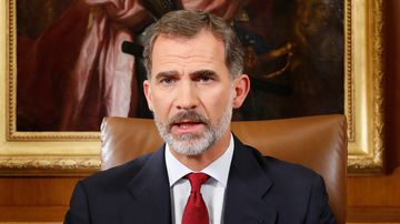 Spain's king slams Catalonia freedom protesters