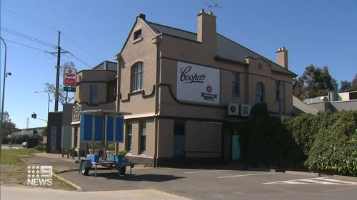South Australia's Cross Keys Hotel is temporarily crossing interstate truck drivers is off its door-list.