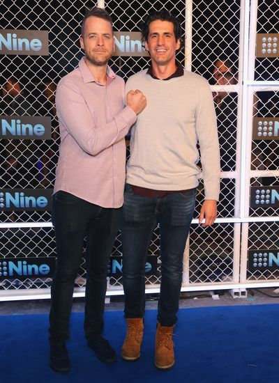 Hamish and Andy at the 2019 Nine Upfronts, Sydney, October 17, 2018
