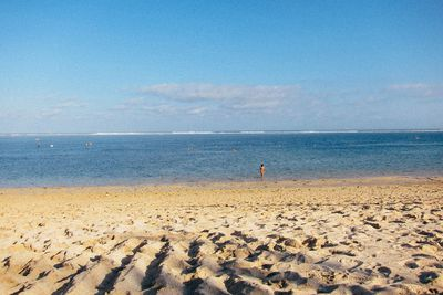 Geger Beach<br /> While one end of Gerger Beach is developed, the other remains completely untouched.<br /> This picturesque beach is more popular with the locals, than it is with tourists.<br /> It's the perfect spot to enjoy a quiet afternoon, go for a swim, or check out the nearby seaweed farm where plants are harvested to produce natural cosmetics.<br /> Image/Flickr.angels.