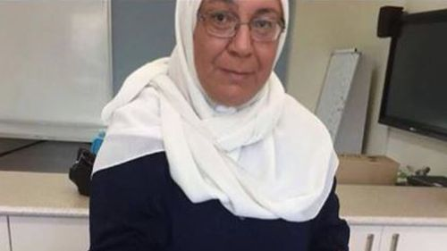 Maha Al-Shennag, 52, was behind the wheel of a Toyota Kluger 4WD when it ploughed into the school (Image: Supplied)