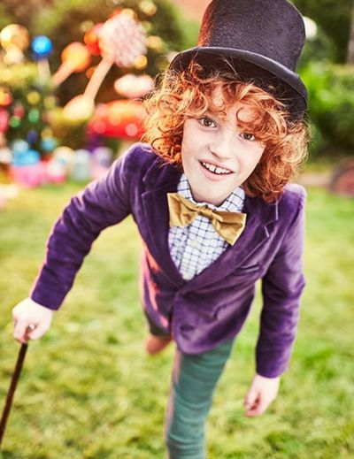 "Willy Wonka from Charlie and The Chocolate Factory is fun for little boys - you just need a cane, sunnies, top hat and jacket. You can buy a kids Willy Wonka costume <a href=""https://www.blossomcostumes.com.au/roald-dahl-willy-wonka-boys-costume.html"" target=""_blank"" draggable=""false"">here</a>"
